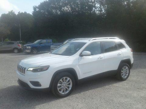Bright White 2019 Jeep Cherokee Latitude
