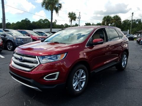 Ruby Red 2018 Ford Edge SEL
