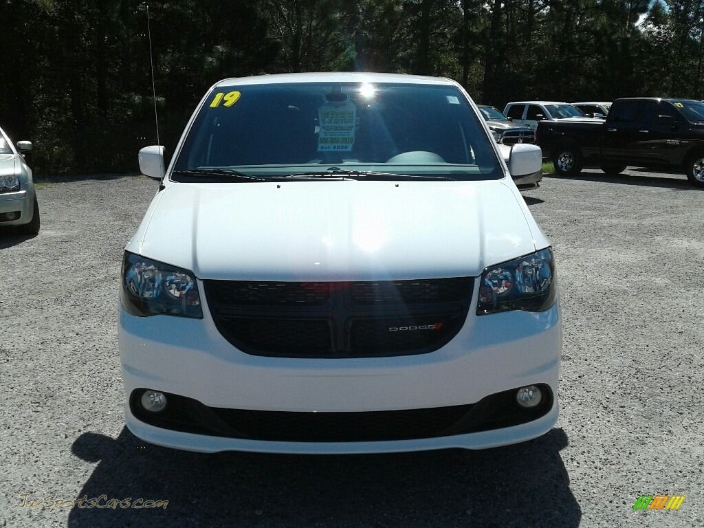 2019 Grand Caravan SXT - White Knuckle / Black photo #8