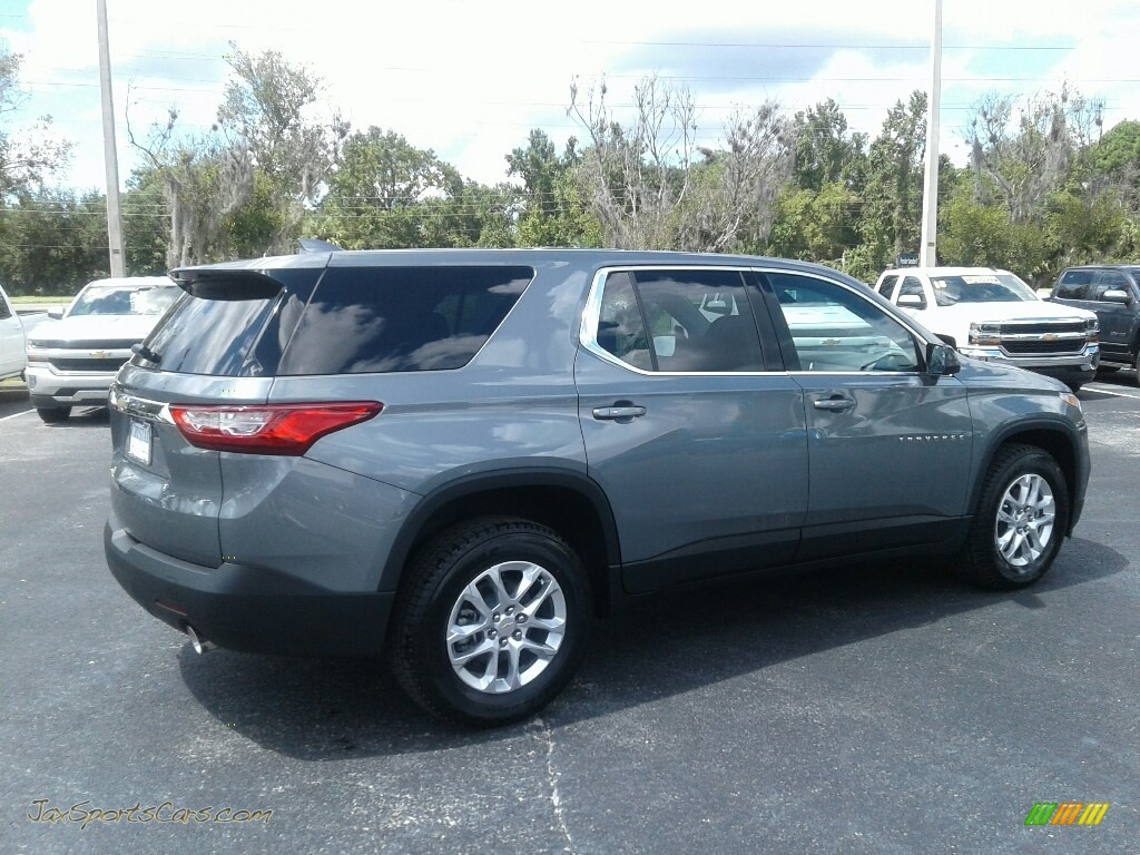 2019 Traverse LS - Satin Steel Metallic / Jet Black photo #5