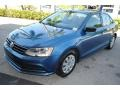 Volkswagen Jetta S Silk Blue Metallic photo #4