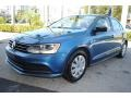 Volkswagen Jetta S Silk Blue Metallic photo #5