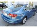 Volkswagen Jetta S Silk Blue Metallic photo #9