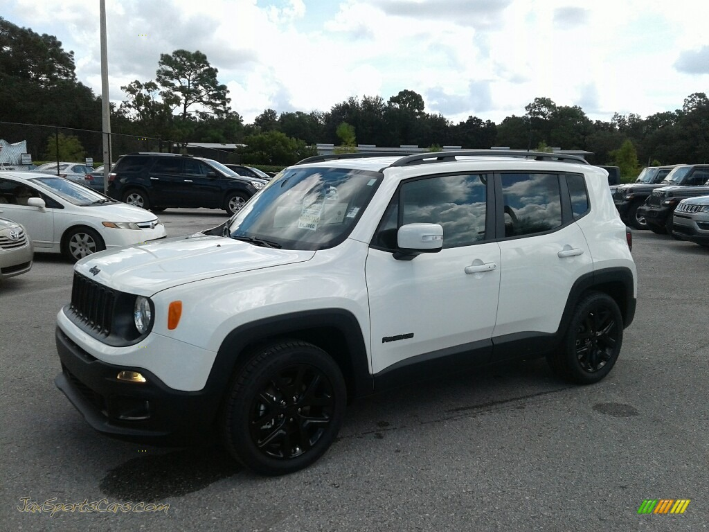 2018 Renegade Altitude - Alpine White / Black photo #1