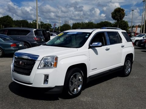 Summit White 2013 GMC Terrain SLT