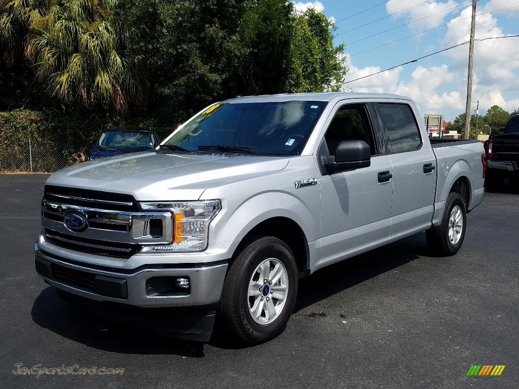 2018 F150 XLT SuperCrew - Ingot Silver / Earth Gray photo #1