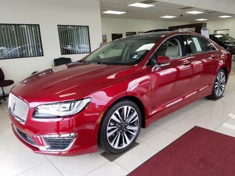 Ruby Red Metallic 2018 Lincoln MKZ Reserve