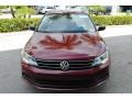 Volkswagen Jetta S Cardinal Red Metallic photo #3