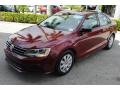 Volkswagen Jetta S Cardinal Red Metallic photo #4