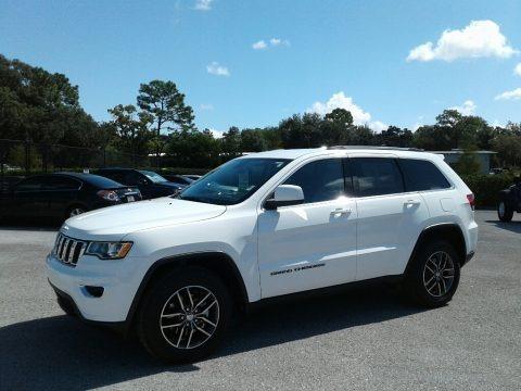 Bright White 2018 Jeep Grand Cherokee Laredo