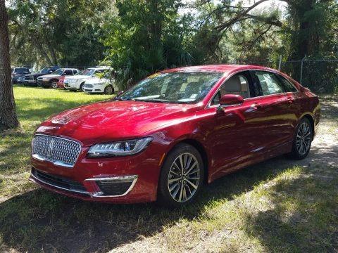 Ruby Red Metallic 2018 Lincoln MKZ Premier