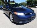 Honda Civic EX Coupe Atomic Blue Metallic photo #1