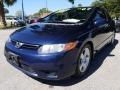 Honda Civic EX Coupe Atomic Blue Metallic photo #7