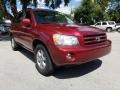 Toyota Highlander V6 Salsa Red Pearl photo #1