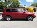 Toyota Highlander V6 Salsa Red Pearl photo #2