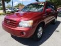 Toyota Highlander V6 Salsa Red Pearl photo #7