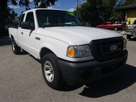 Oxford White 2009 Ford Ranger XL SuperCab
