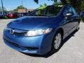 Honda Civic DX-VP Sedan Atomic Blue Metallic photo #7