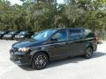 Dodge Grand Caravan SE Plus Black Onyx Crystal Pearl photo #1