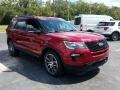 Ford Explorer Sport 4WD Ruby Red photo #7