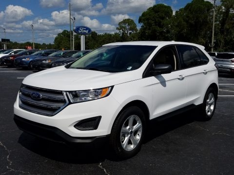 Oxford White 2018 Ford Edge SE