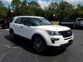 Ford Explorer Sport 4WD White Platinum photo #7