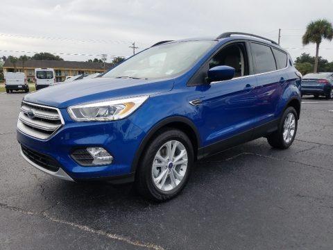 Lightning Blue 2018 Ford Escape SEL