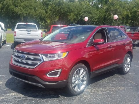 Ruby Red 2018 Ford Edge Titanium