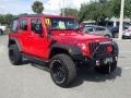 Jeep Wrangler Unlimited Sport 4x4 Firecracker Red photo #7