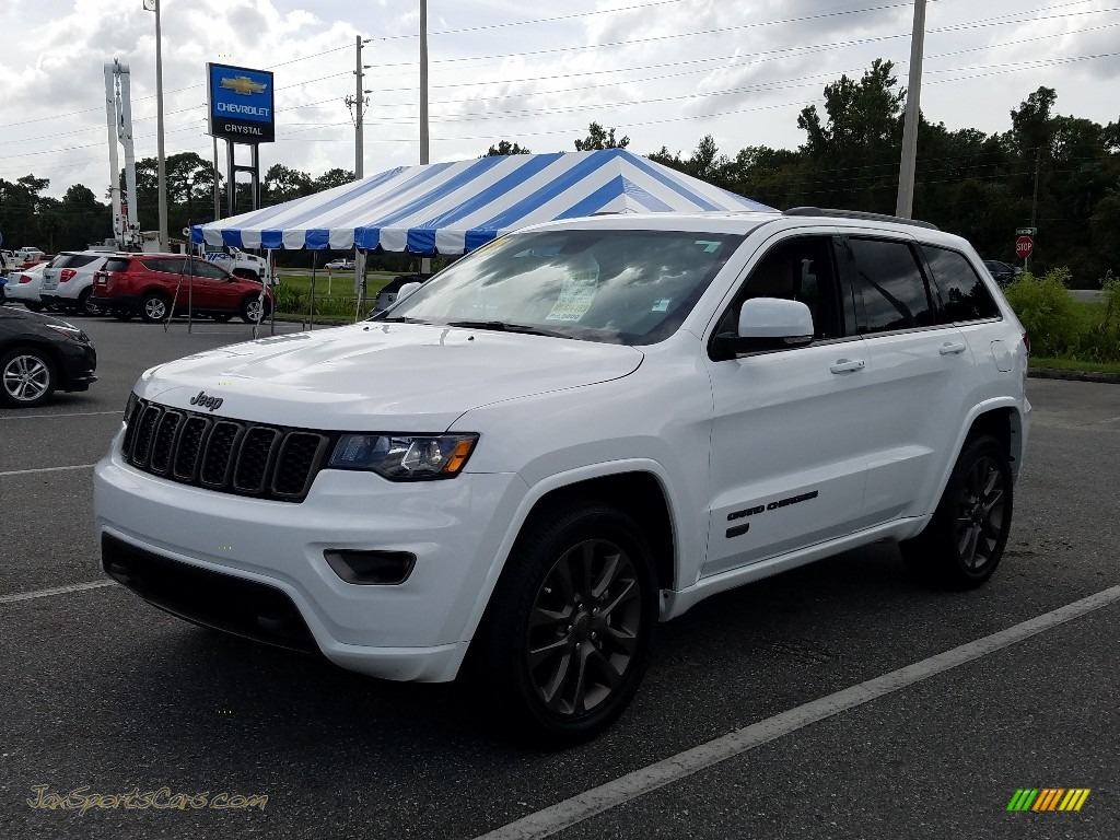 2017 Grand Cherokee Limited 75th Annivesary Edition 4x4 - Bright White / Black/Light Frost Beige photo #1