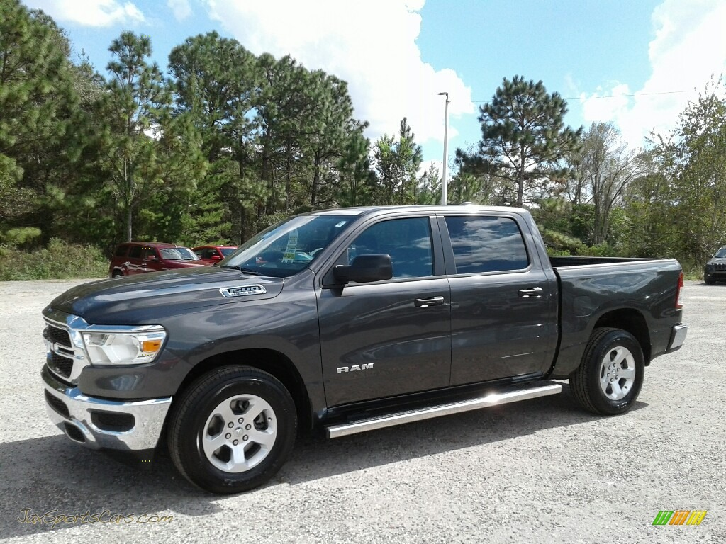 2019 1500 Tradesman Crew Cab - Granite Crystal Metallic / Black photo #1
