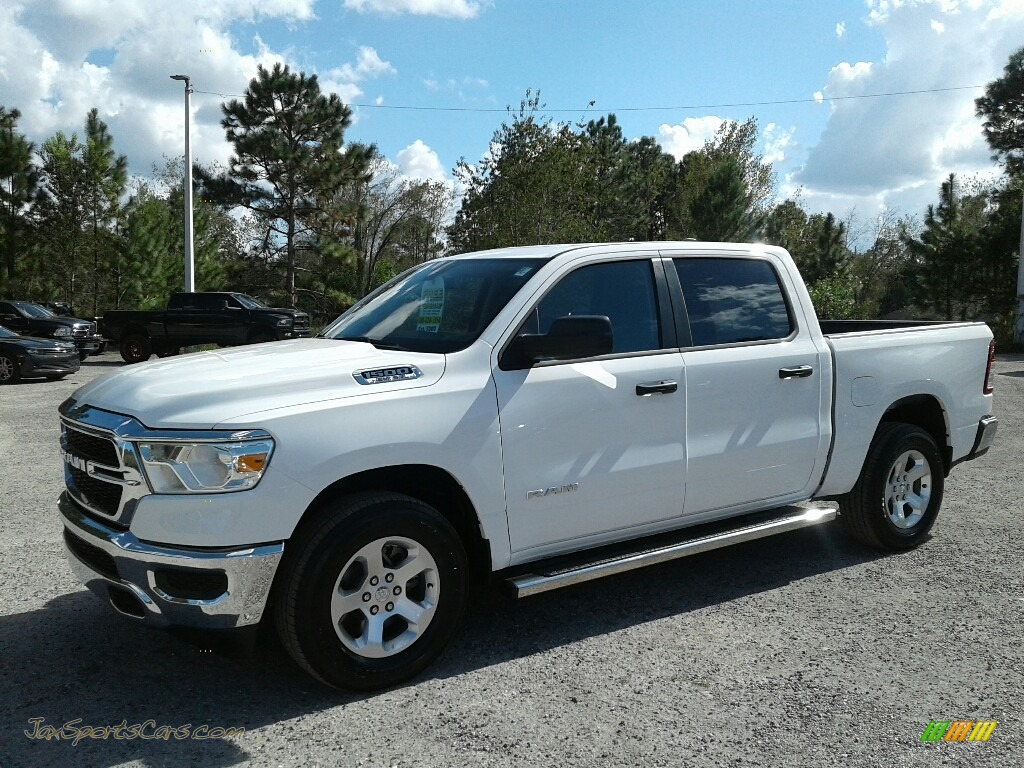2019 1500 Tradesman Crew Cab - Bright White / Black photo #1