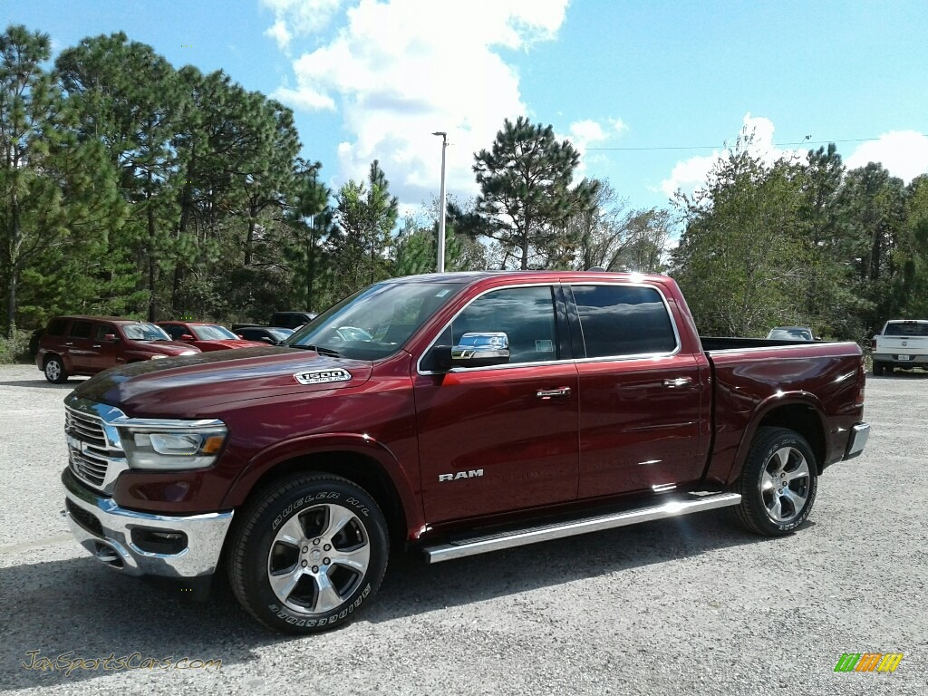 2019 1500 Laramie Crew Cab - Delmonico Red Pearl / Black photo #1