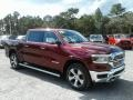 Ram 1500 Laramie Crew Cab Delmonico Red Pearl photo #7