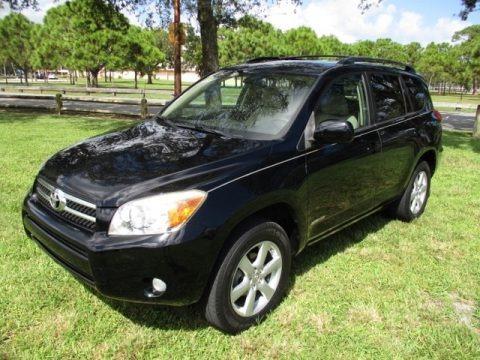 Black 2007 Toyota RAV4 Limited