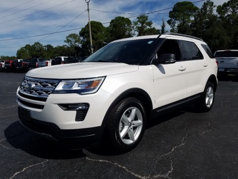 Oxford White 2019 Ford Explorer XLT