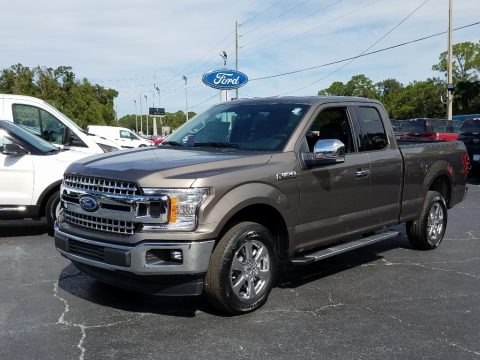 Stone Gray 2018 Ford F150 XLT SuperCab