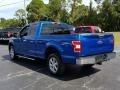 Ford F150 XLT SuperCab Lightning Blue photo #3