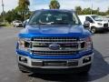 Ford F150 XLT SuperCab Lightning Blue photo #8