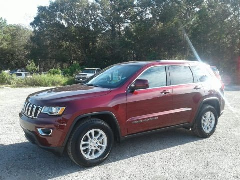 Velvet Red Pearl 2018 Jeep Grand Cherokee Laredo