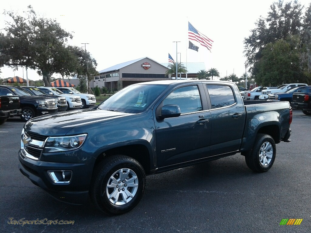 2019 Colorado LT Crew Cab - Shadow Gray Metallic / Jet Black photo #1