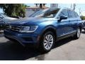 Volkswagen Tiguan SE Silk Blue Metallic photo #5