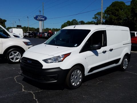 White 2019 Ford Transit Connect XL Van