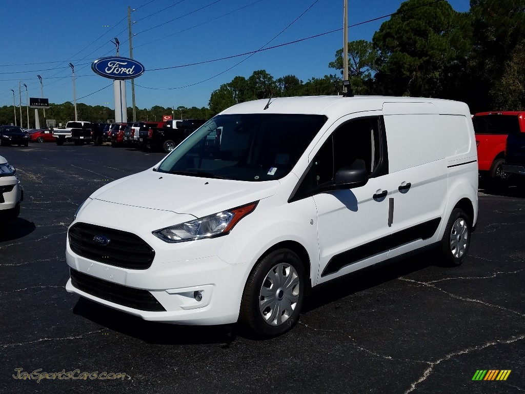 2019 Transit Connect XLT Van - White / Ebony photo #1