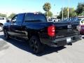 Chevrolet Silverado 1500 Custom Double Cab 4x4 Black photo #3