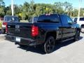 Chevrolet Silverado 1500 Custom Double Cab 4x4 Black photo #5