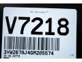 Volkswagen Jetta S Platinum Grey Metallic photo #20