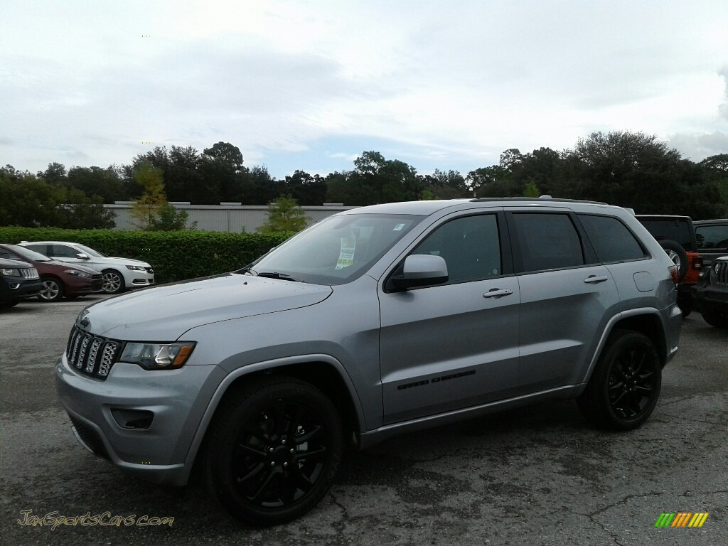 2019 Grand Cherokee Altitude - Billet Silver Metallic / Black photo #1