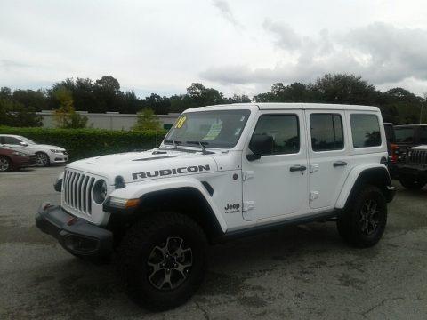 Bright White 2018 Jeep Wrangler Unlimited Rubicon 4x4