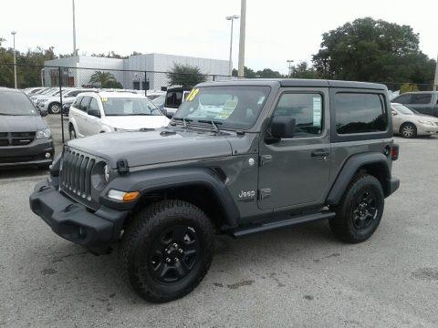 Sting-Gray 2018 Jeep Wrangler Sport 4x4